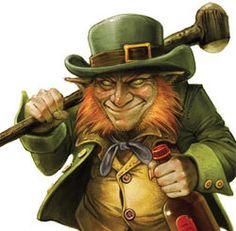 "Slagging Evil Leprechaun says...""Shitelegy!"""