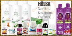 Parfym, make-up, aloe vera, kosttillskott online. Mity.se