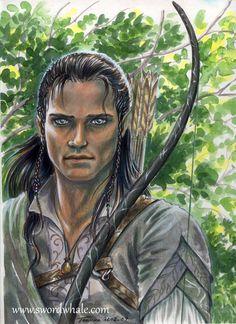 Beleg Cuthalion, from JRR Tolkien's Silmarillion