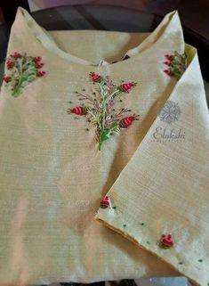 Call or Whatsapp to order this. Worldwide delivery and all colors available. no cash on delivery. Hand Embroidery Dress, Basic Embroidery Stitches, Embroidery On Clothes, Embroidery Works, Flower Embroidery Designs, Indian Embroidery, Embroidery Suits, Beaded Embroidery, Machine Embroidery Designs