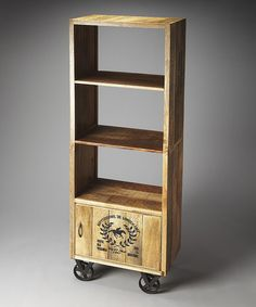 Love this 68'' Mobile Bookcase on #zulily! #zulilyfinds