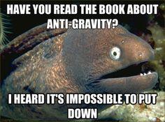 Haha check out these 22 bad eel jokes, I just want more-ay!!