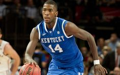 Michael Kidd-Gilchrist, Kentucky freshman who Coach Calipari has described as the hardest working member of his team