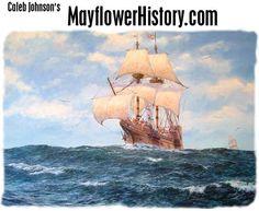 Caleb Johnson's Mayflower History