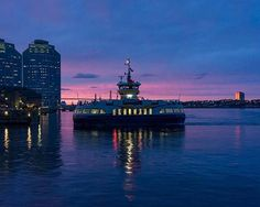 From @psteeper - Halifax ferry in the evening light. #halifax #halifaxharbour #halifaxferry #purdyswharf #sackvillephotoclub…
