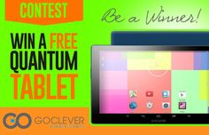 Win a clever android tablet.