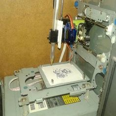 Mini CNC Arduino Bas...-AbderrahimA