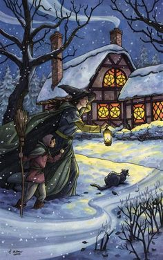 Wonderful image for the Five of Pentacles tarot card. I've got to find out what deck this is.