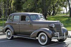 1938 Chevrolet Master Deluxe Sedan.
