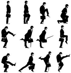Someday I hope to get a grant from the ministry of silly walks.