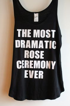 The Bachelor Show, The Most Dramatic Rose Ceremony Ever, Homemade, The Bachelorette Show, The Bachelorette TV Show, Rose Ceremony by LJCustomDesigns1 on Etsy