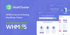 Buy HostCluster - WHMCS Server & Hosting WordPress Theme + RTL by modeltheme on ThemeForest. HostCluster is a Hosting WordPress Theme and is one of our most valuable Server related business themes. We decided . Domain Hosting, Site Hosting, Hosting Website, Html Website Templates, 404 Page, Themes Free, Hosting Company, Page Template, Wordpress Theme