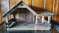Hey, I found this really awesome Etsy listing at https://www.etsy.com/listing/463231308/nativity-creche-manger-barn-wood