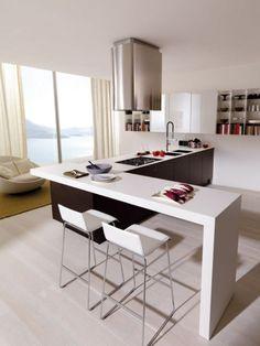 Cucina Euromobil La Clip progettazione casa funzionale, prodotti di arredamento Bassi Arredamenti