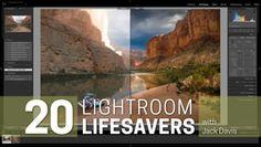 20 Lightroom Lifesavers