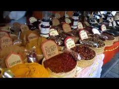 COMIDA ARTESANAL Tradicional en Mercado Cervantino Estepona 2016
