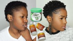 Styling My Natural Hair Using Dollar Tree Natural Hair Prod. Natural Hair Short Cuts, Natural Hair Twa, How To Curl Short Hair, Natural Hair Journey, Natural Hair Styles, Growing Out Hair, Twa Styles, Short Afro Hairstyles, Cute Little Girl Hairstyles