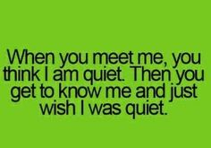 Haha so true! Words Quotes, Me Quotes, Funny Quotes, Funny Memes, Jokes, Sayings, Get To Know Me, Getting To Know, Haha So True