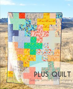 Simple Simon and Company - Plus Quilt tutorial