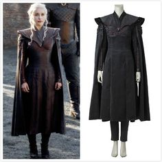 Department Name:Adult;Gender:Women Works:Game of Thrones Characters: Daenerys Targaryen Material:Polyester Included: Dress, cape, pants Color:As Game Of Thrones Dress, Game Of Thrones Costumes, Daenerys Targaryen Dress, Narnia, Skyrim Clothes, Pants For Women, Clothes For Women, Halloween Party Costumes, Medieval Clothing