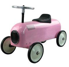 Coche #correpasillos de racer #rosa para #bebés Ayuda a desarrollar la #imaginación, capacidades motrices y reflejos del #niño. Adecuado a partir de los 12 meses. #regalo http://tienda.5mimitos.com/products/coche-correpasillos-racer-rosa