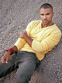 shemar moore...so man pretty