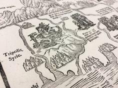 Geheimnisvolle Landkarte: Bibliothekar spürt Teil von seltenem Bibel-Puzzle auf - SPIEGEL ONLINE - Wissenschaft