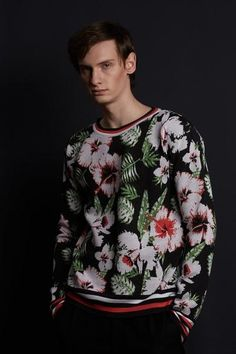 Men in Flowers Bold Colors, Colours, Family Traditions, Christmas Sweaters, Flowers, Store, Women, Fashion, Hoodies