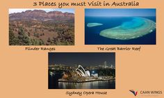 #Places to Visit in #Australia.Read here for more: https://caanwingsconsultants.wordpress.com/2015/09/07/caan-wings-consultants-places-to-visit-in-australia/ #caanwingsconsultant