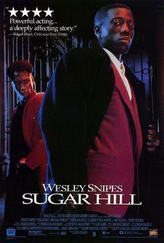 SUGAR HILL Movie POSTER 27x40 Wesley Snipes Michael Wright Theresa Randle picclick.com