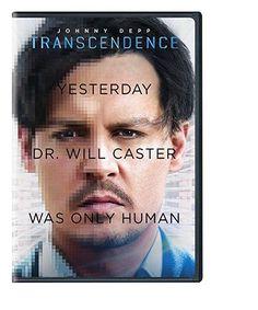 Transcendence (DVD) Johnny Depp, Rebecca Hall, Paul Bettany, Morgan Freeman, Cillian Murphy