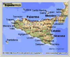 History of Sicilian People 1908 | msn expedia maps messina sicily the gateway to sicily is