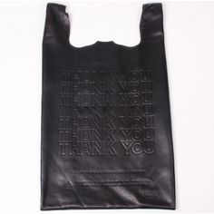 Leather mock grocery store bag...like the plastic ones. I cannot even look at this without smirking. Good spoof. Too funny!