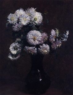 Henry Fantin-Latour, Chrysanthemums