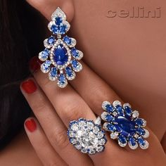 Soothe your#Senses with @cellini_jewelers Summer Blues Selection on CelliniJewelers.com
