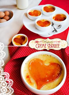 Valentine's Day Treat: Cupid's Creme Brulee