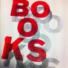 Letterpress workshop #designcollege, oh how we love books