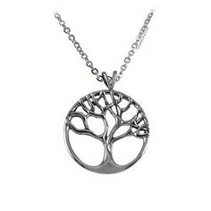 tree of life necklaces sterling silver   ... the many intertwined branches of the tree of life are present in the