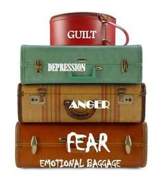 """Got emotional baggage?  Take three min. to laugh about it with the latest blog post, """"Excess Baggage?  You've Got It Too!"""""""
