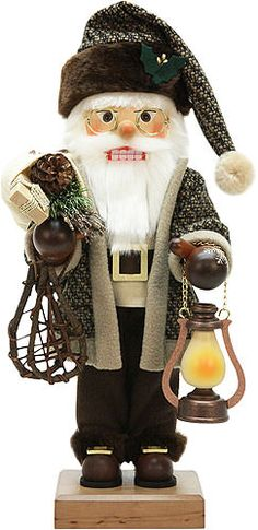Nutcracker+Santa+Claus+with+lantern,+limited+-+47,0cm+/+18.5inch