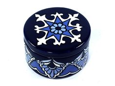 Hey, I found this really awesome Etsy listing at https://www.etsy.com/listing/186870152/shades-of-blue-talavera-style-ceramic