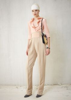 High waisted pants están marcando la tendencia #fashion mira la #colección de Balenciaga Resort 2013