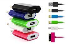 Groupon - Lade- und Datenkabel mit 30 Pin, Lightning oder Micro-USB Anschluss inkl. Versand ab 9,90 € in [missing {{location}} value]. Groupon Angebotspreis: €9,90