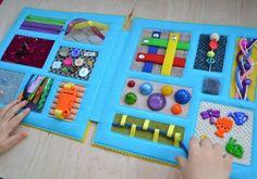 Sensory Blanket, Sensory Book, Baby Sensory, Diy Busy Books, Quiet Books, Fidget Blankets, Fidget Quilt, Fun Crafts To Do, Book Quilt