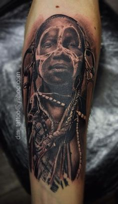 Africa #tattoo #ink