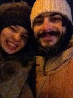 Зима близко! А в тот вечер были замечательные блинчикииии! :)