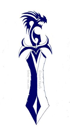 Tribal Knife Tattoo Designs Dagger tattoos