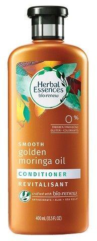 Herbal Essences Bio:Renew Smooth Golden Moringa Oil Conditioner - 13.5oz Moringa Oil, Herbal Essences, Coconut Water, Herbalism, Conditioner, Smooth, Bottle, Herbal Medicine, Flask