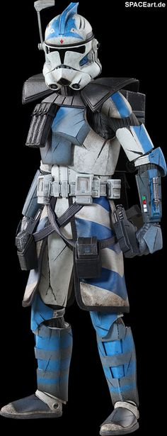 Star Wars: Arc Clone Trooper Fives Phase II Armor, Voll bewegliche Deluxe-Figur ... http://spaceart.de/produkte/sw019.php