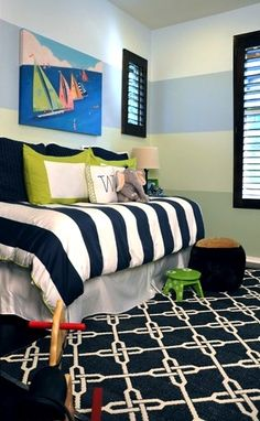 Kids' Room Color Schemes | Navy Blue | Nauvoo IL Interior Designer